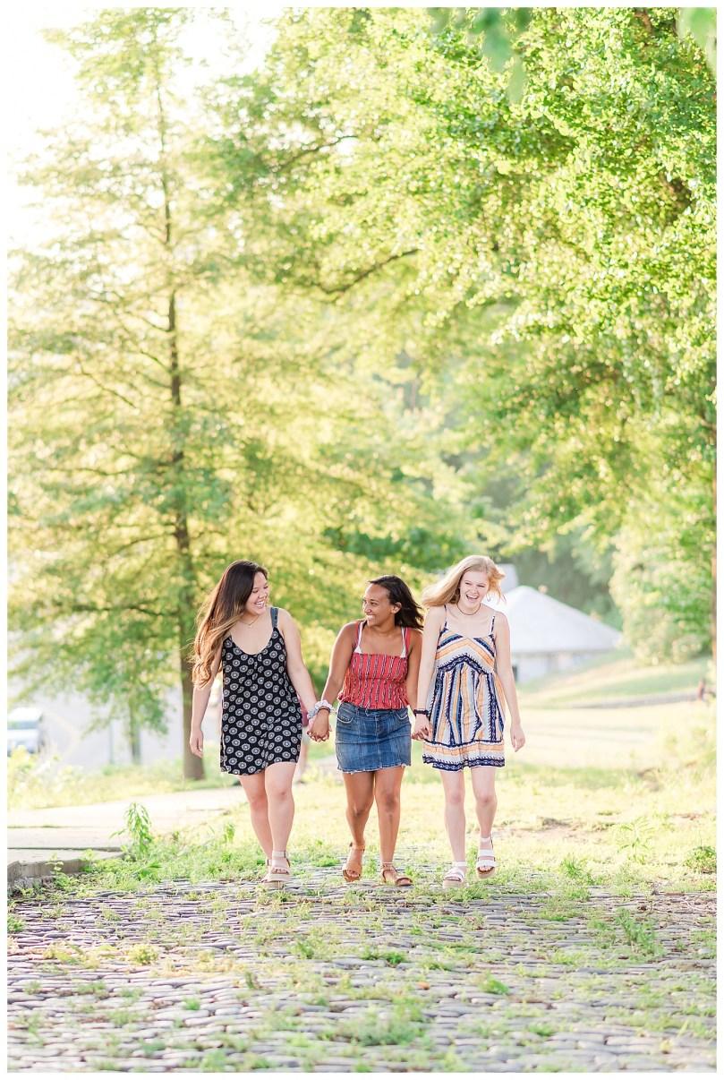 Alexandra Michelle Photography - Senior Best Friend Portraits - BFFs - Libby Hill Park - Richmond Virginia - Spring 2019-35