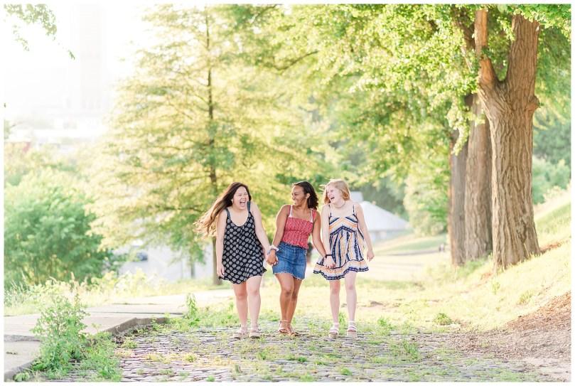 Alexandra Michelle Photography - Senior Best Friend Portraits - BFFs - Libby Hill Park - Richmond Virginia - Spring 2019-37