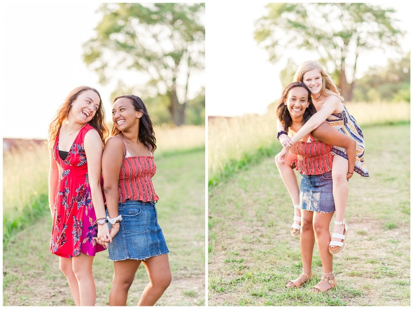 Alexandra Michelle Photography - Senior Best Friend Portraits - BFFs - Libby Hill Park - Richmond Virginia - Spring 2019-45
