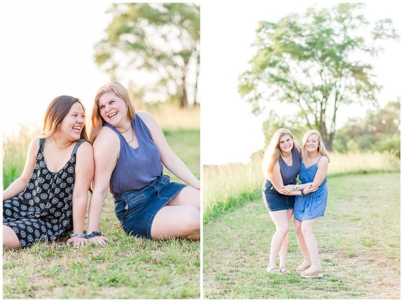 Alexandra Michelle Photography - Senior Best Friend Portraits - BFFs - Libby Hill Park - Richmond Virginia - Spring 2019-47
