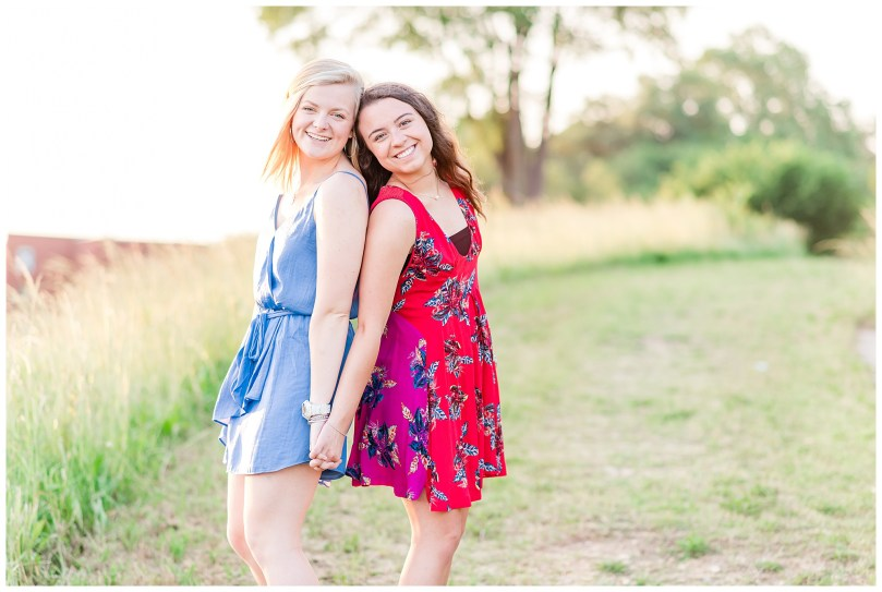 Alexandra Michelle Photography - Senior Best Friend Portraits - BFFs - Libby Hill Park - Richmond Virginia - Spring 2019-49