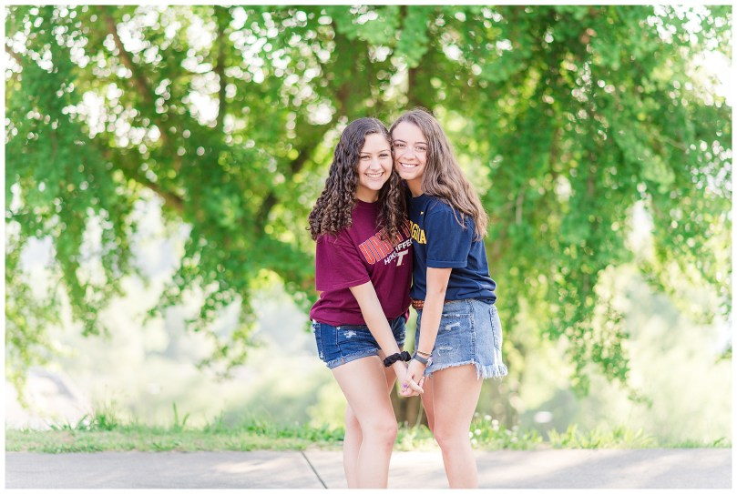 Alexandra Michelle Photography - Senior Best Friend Portraits - BFFs - Libby Hill Park - Richmond Virginia - Spring 2019-8