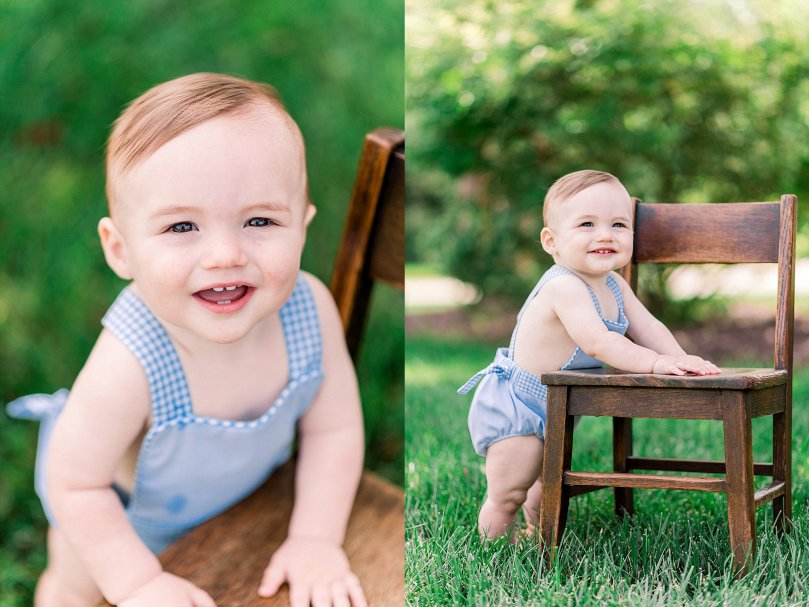 Alexandra Michelle Photography - 1 Year Cake Smash Portraits - Virginia - Summer 2019 - Tenney-106