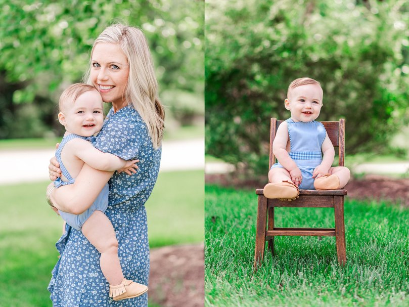 Alexandra Michelle Photography - 1 Year Cake Smash Portraits - Virginia - Summer 2019 - Tenney-85
