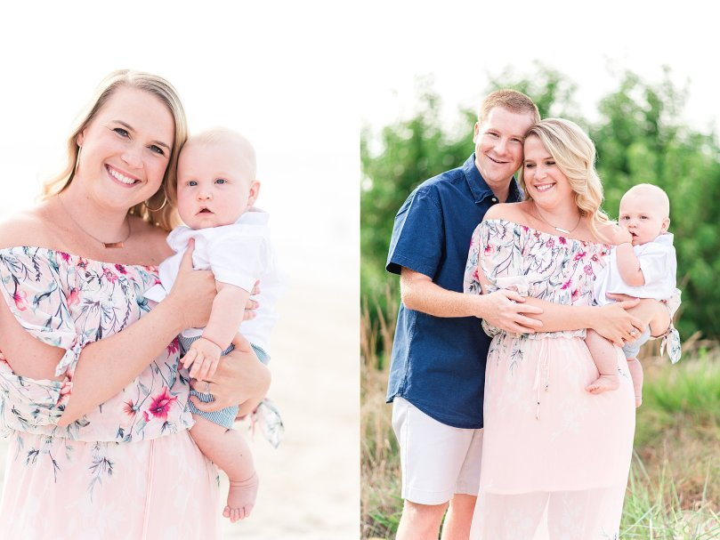 Alexandra Michelle Photography - Virginia Beach - Sand Dunes - Family Portraits - Summer 2019 - Midgette-1
