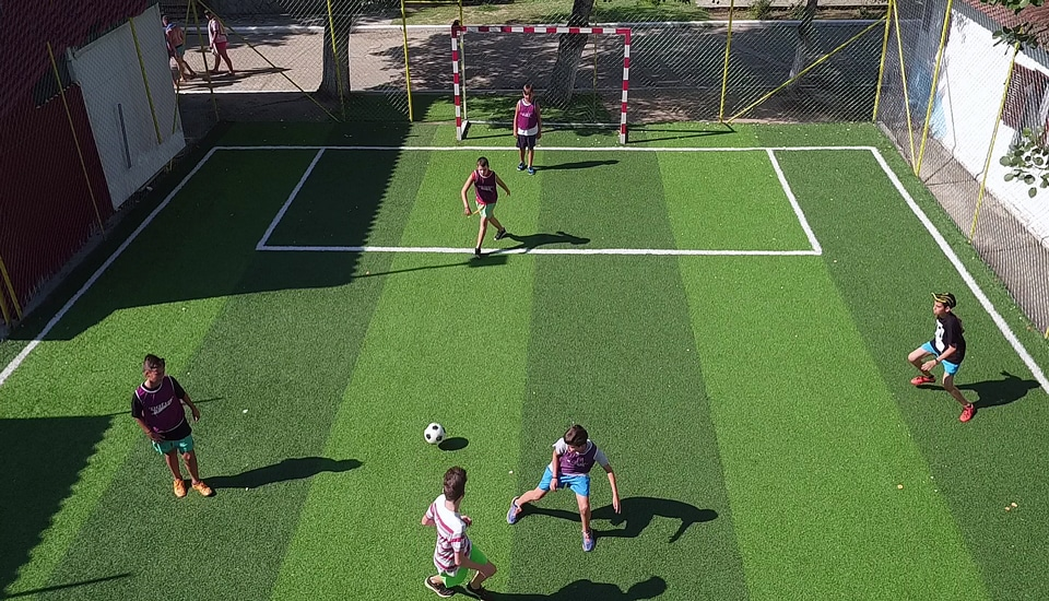 alexandra camp football artificial grass