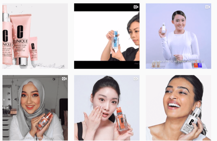 CliniqueMalaysia marketers have made videos their top priority and they seem to be applying this content strategy rather well.