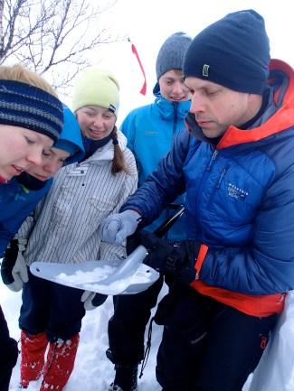 Snow examination