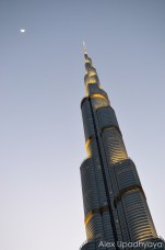 The Burj Khalifa, the tallest building in the world