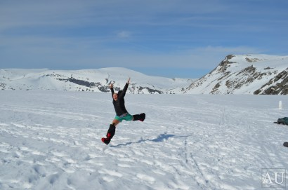 Leap of joy!