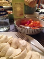Fresh Mozzarella and peppers