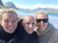 Ramberg Beach Selfie!