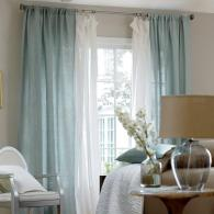 Airy blue - perdele