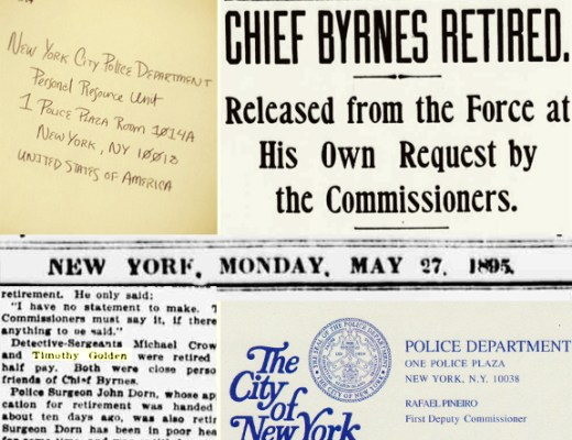 Newspaper articles, NYPD