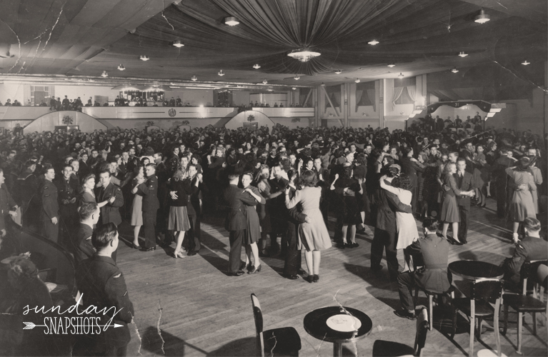 USO Dance Moncton 1943 | Glenna Hare for Alex Inspired
