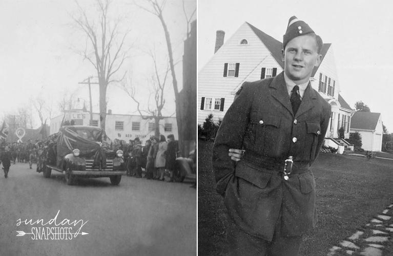 Moncton 1943 parade, British Soldier - photos by Glenna Hare   Alex Inspired