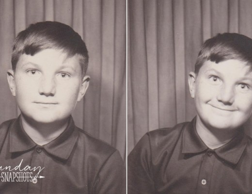 Sunday Snapshots: Alex Inspired  Life before selfies, time of the photobooth