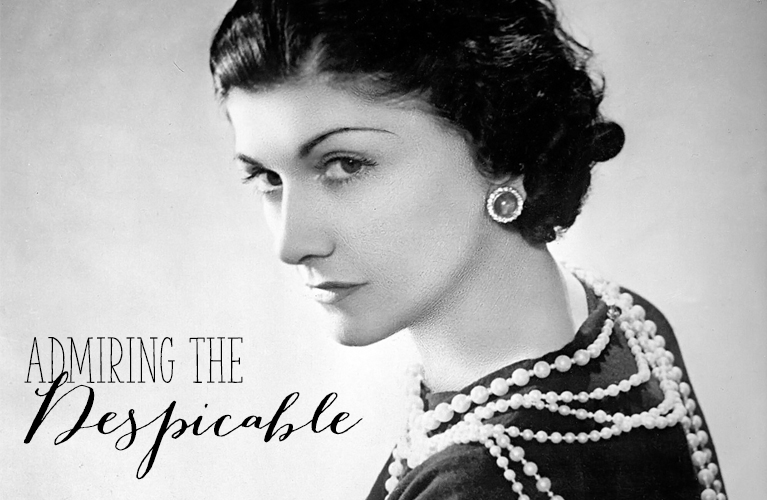 Coco Chanel, a true iconic woman? or a despicable human being? Admiring the Despicable - Coco Chanel| Alex Inspired