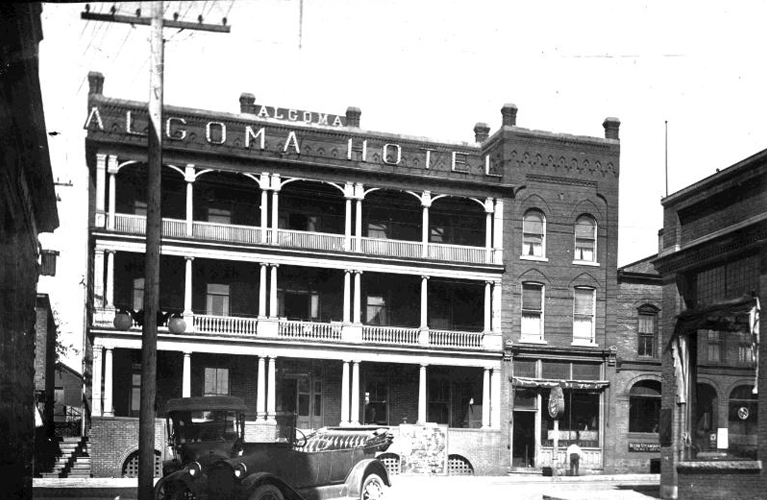 The Algoma Hotel of Port Arthur | Photo courtesy of The Thunder Bay Museum | Alex Inspired