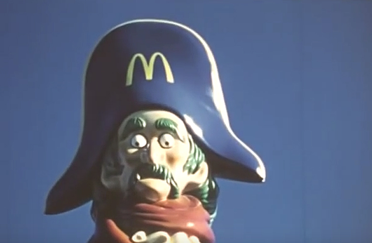 Captain Crook Slide - McDonaldland | Alex inspired