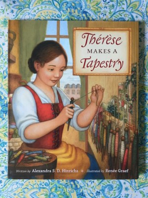 Image of Therese Makes a Tapestry