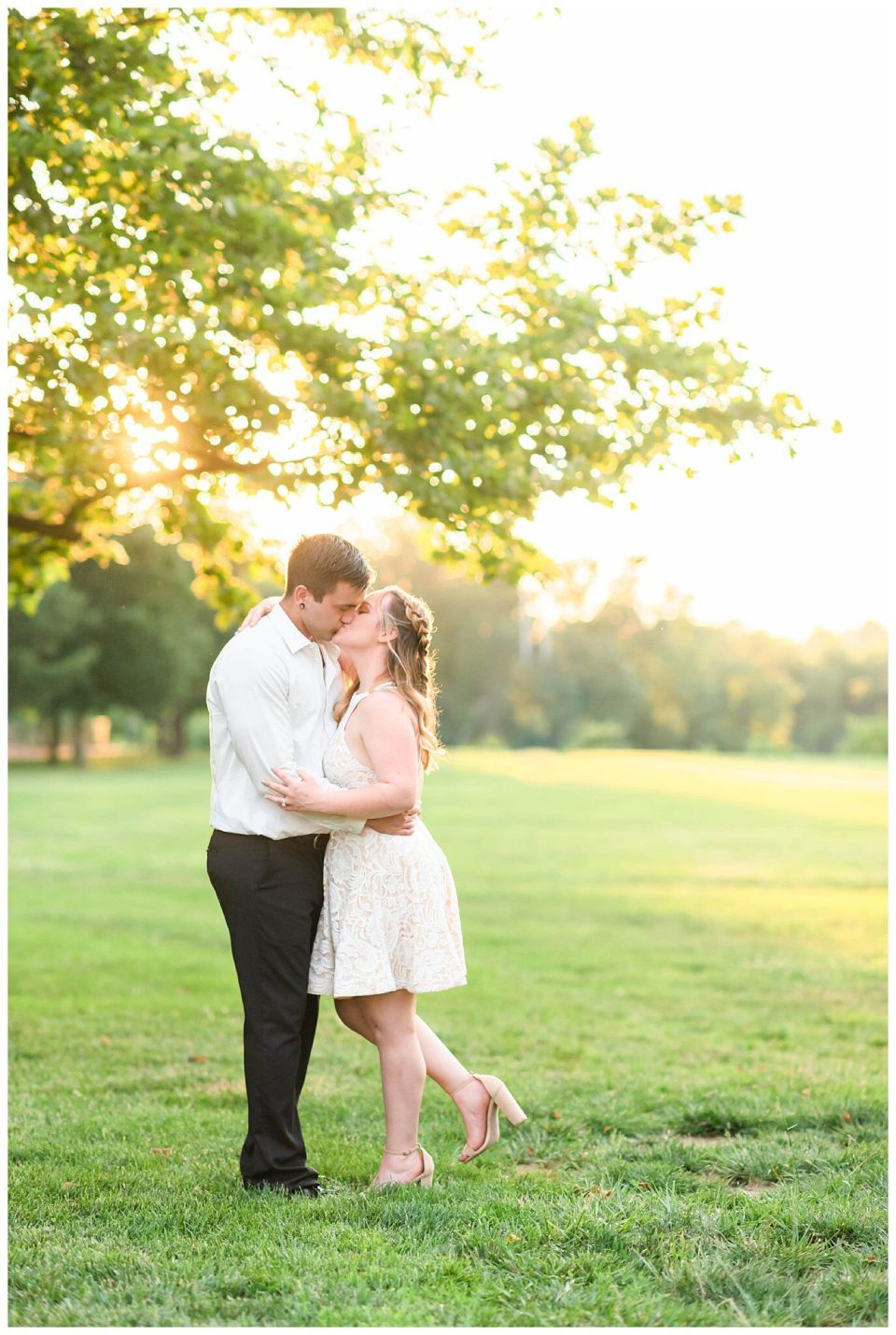 Engagement session at saint johns college