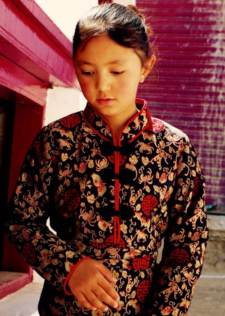 Girl in Spituk