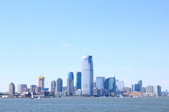 Skyline of Manhattan - New Jersey 1