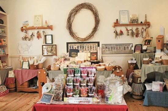 Missouri Town 1855 - Candy shop