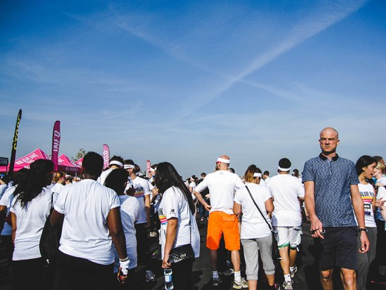 Colour Run London - Waiting for the start