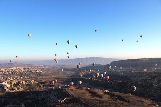 Hot Air Balloon Ride in Cappadocia - View 3
