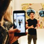 Rich Simmons' Art Show; the Spray Paint Peter Pan