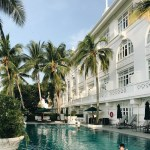 Eastern and Oriental Hotel in Georgetown, Malaysia