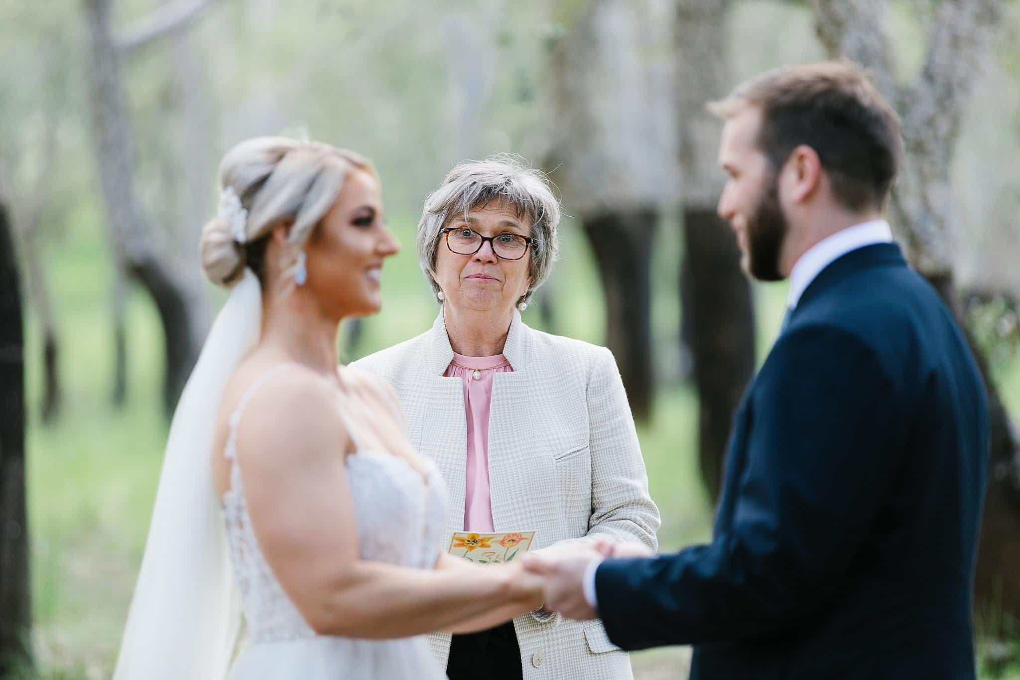 Mother of the Groom makes a speech