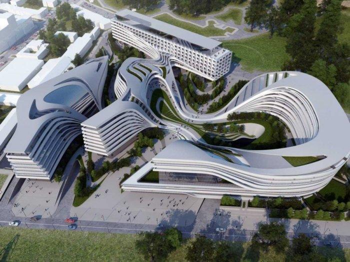 Beko Building Belgrad Serbia
