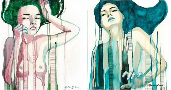Watercolor 3-horz