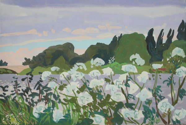 Thames landscape (Cow Parsley) Mark Dober