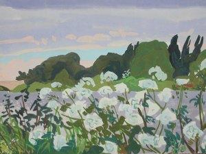 Thames landscape (Cow Parsley) Mark Dober