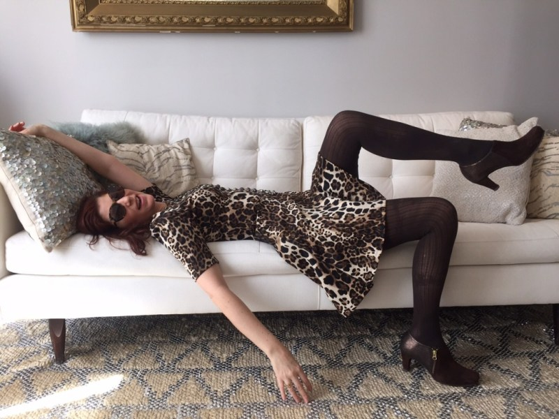 Alexandra shows you how to wear Leopard and still be classy while having a blast.
