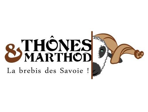 Création du logo pour la race ovine «Thônes & Marthod»