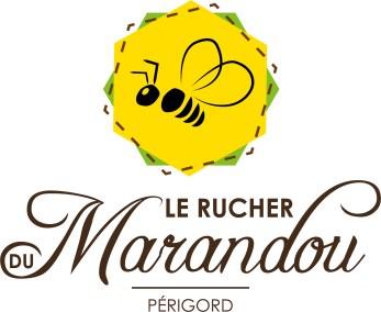 Logo_Rucher du Marandou_marron