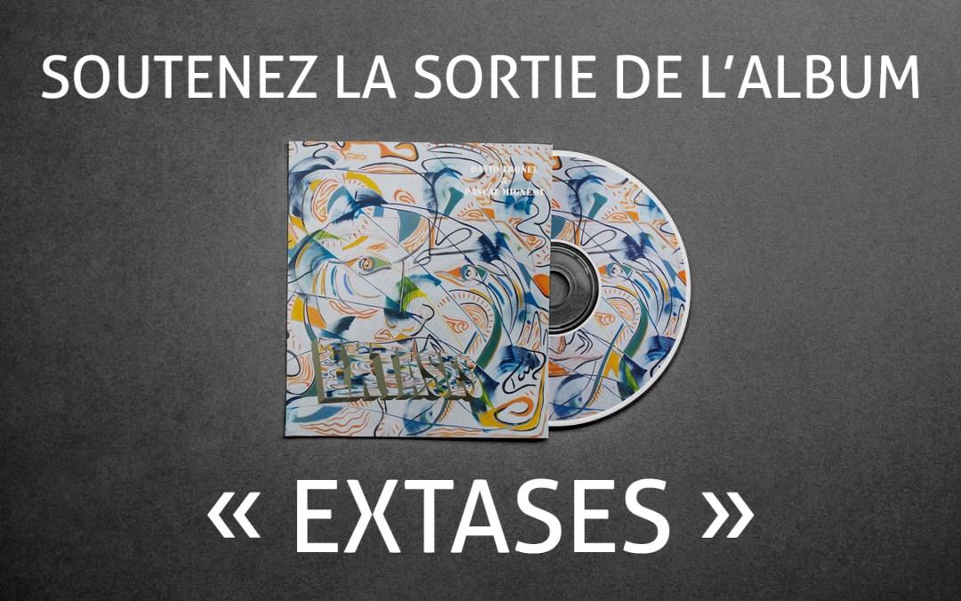 Extases : découvrez l'album slam de David Tronel et Pascal Mignémi !