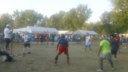 Takraw Tournament - Tai Village Festival 2013