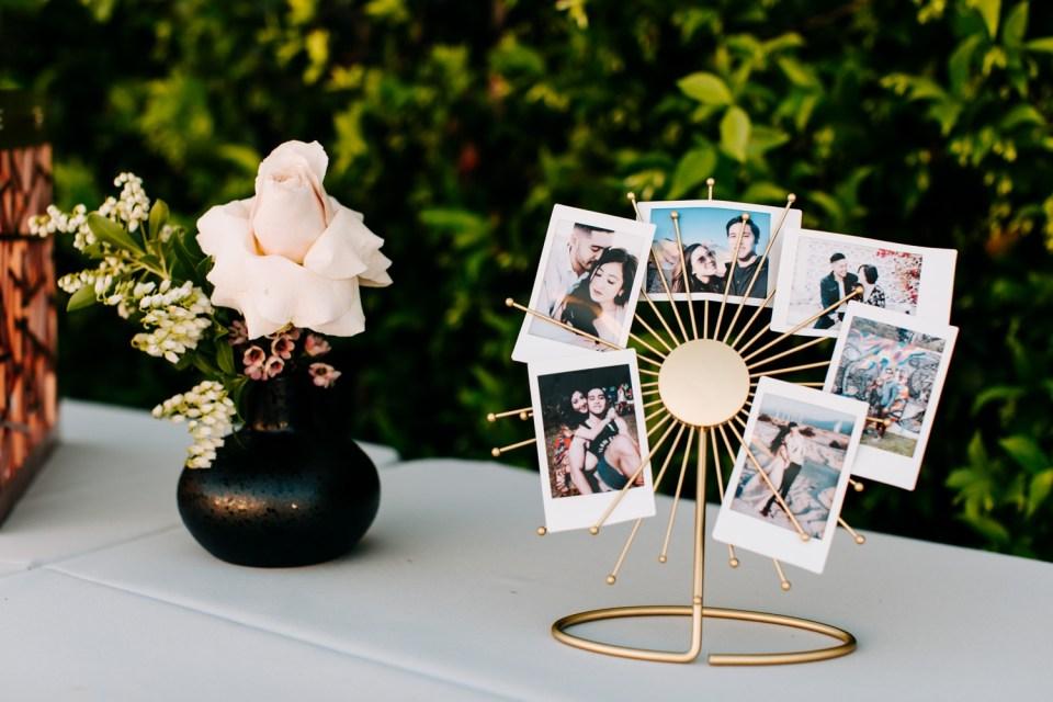 gold acrylic wedding welcome sign