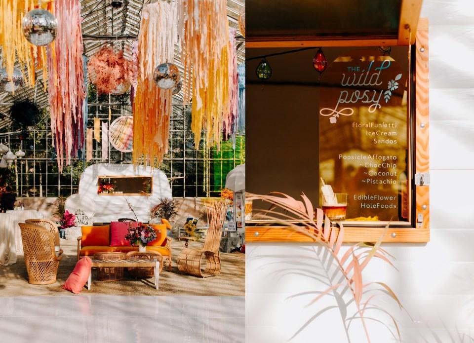 wild posy ice cream truck rental for weddings