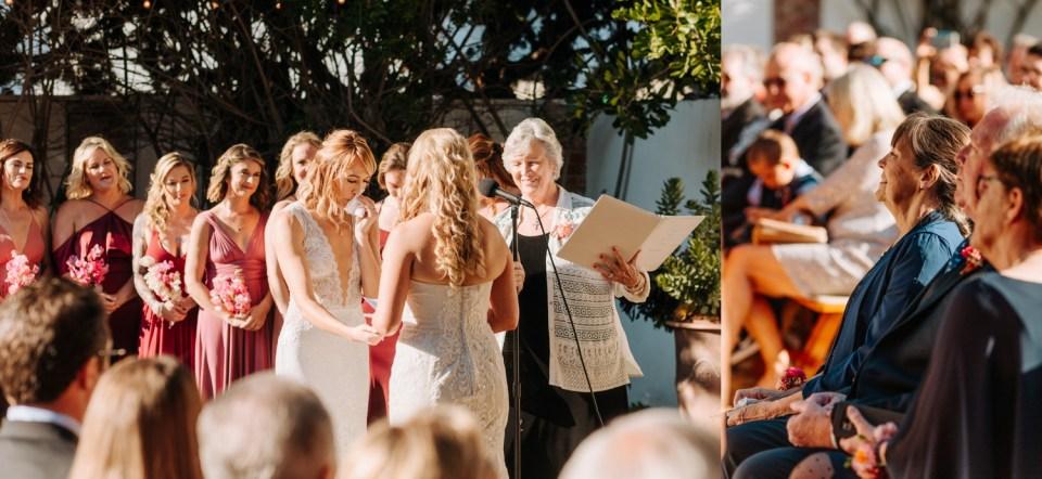 Casino San Clemente lgbtq wedding ceremony