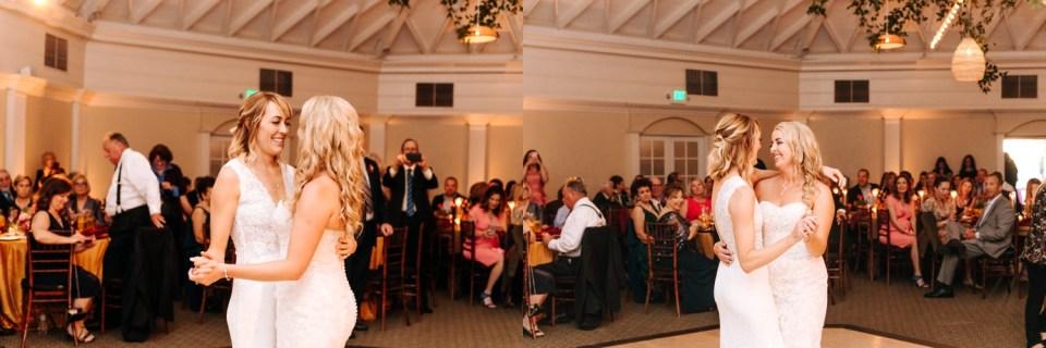 wedding reception at casiono san clemente