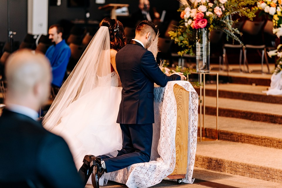 catholic church wedding ceremony in california