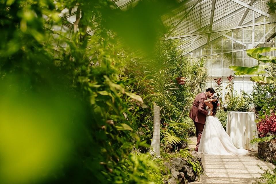 First Look for Goleta Wedding at Dos Pueblos Orchid Farm
