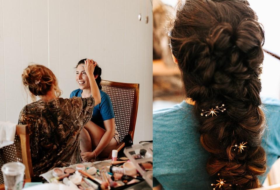 Getting Ready for Goleta Wedding at Dos Pueblos Orchid Farm